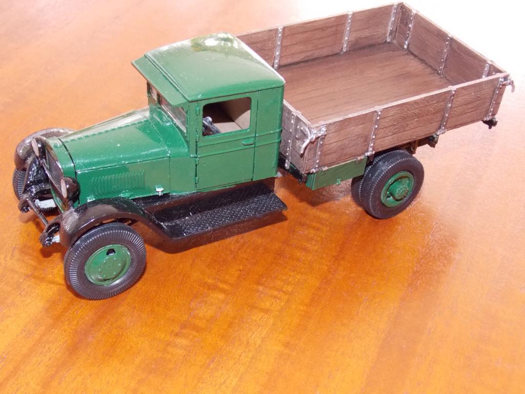 Camion GAZ AA 1/35 DSCN9841