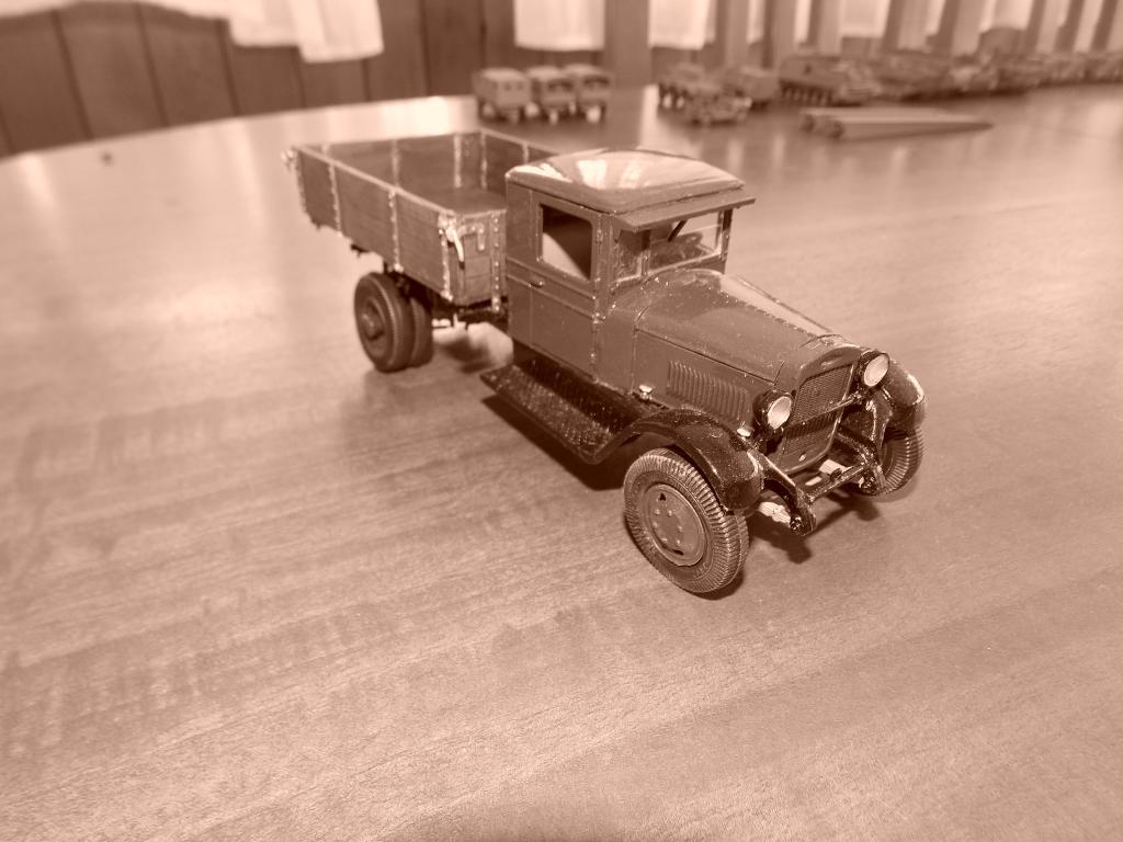 Camion GAZ AA 1/35 DSCN9845