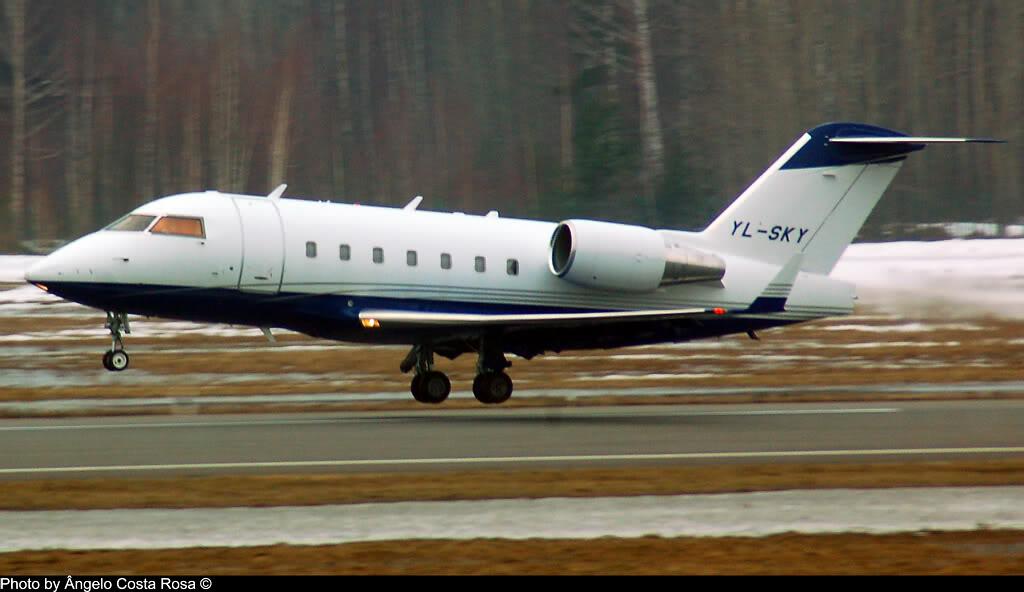 Biz aviation worldwide YL-SKY