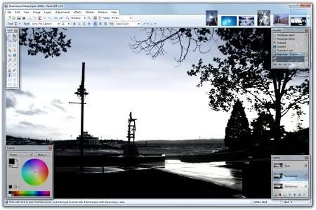 Getpaint.net (free) Paintnetscreen