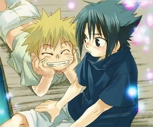 Imagenes de la serie Naruto Sasunaru_32