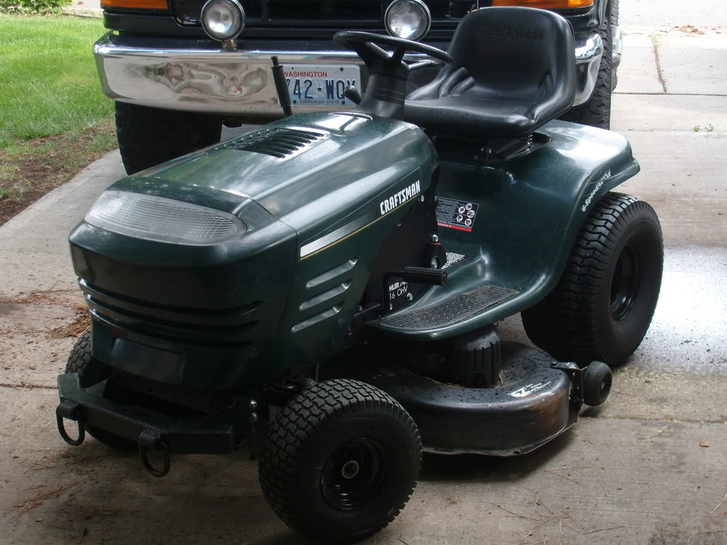 Will a Craftsman LT1000 work for an offroad mower? Want to use it on my farm. S7303595