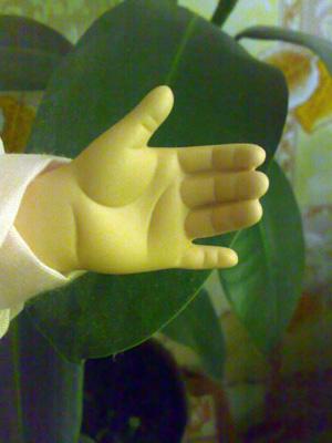 Lelļu rokas/линии жизни на кукольных руках 179