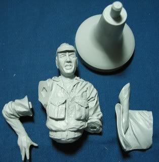 AC models French Officer Indochina 1954  bust IMG_0011