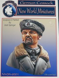 New World Miniatures German Cossack Bust IMG_0087