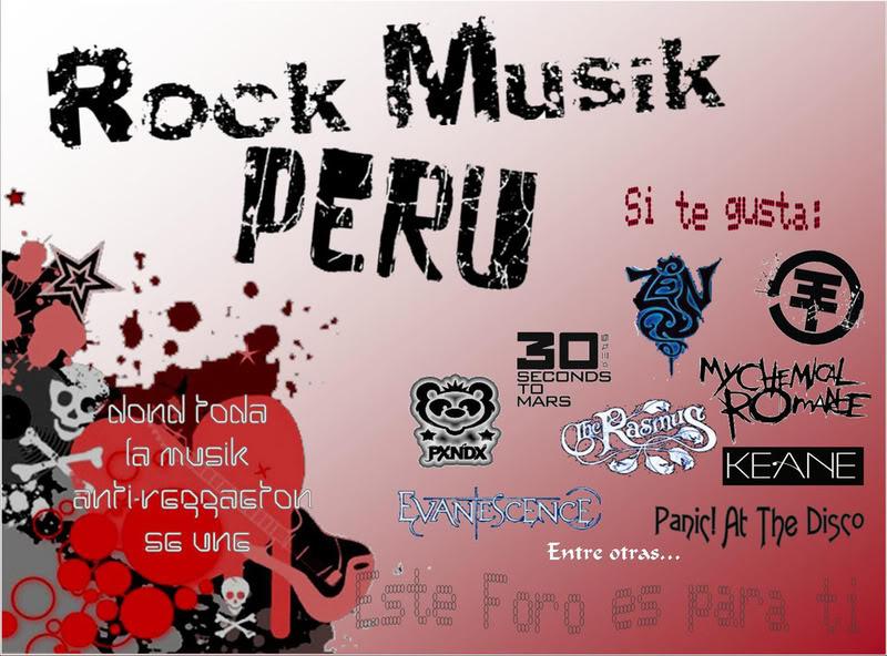 Rock Musik Peru!