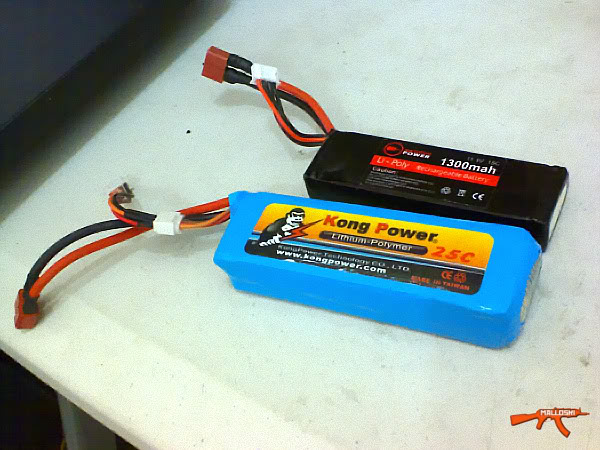 care and storage of li-poly batteries Kp01