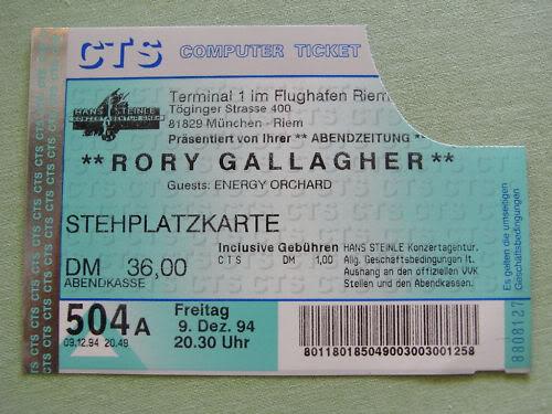 Tickets de concerts/Affiches/Programmes - Page 16 1994dec09
