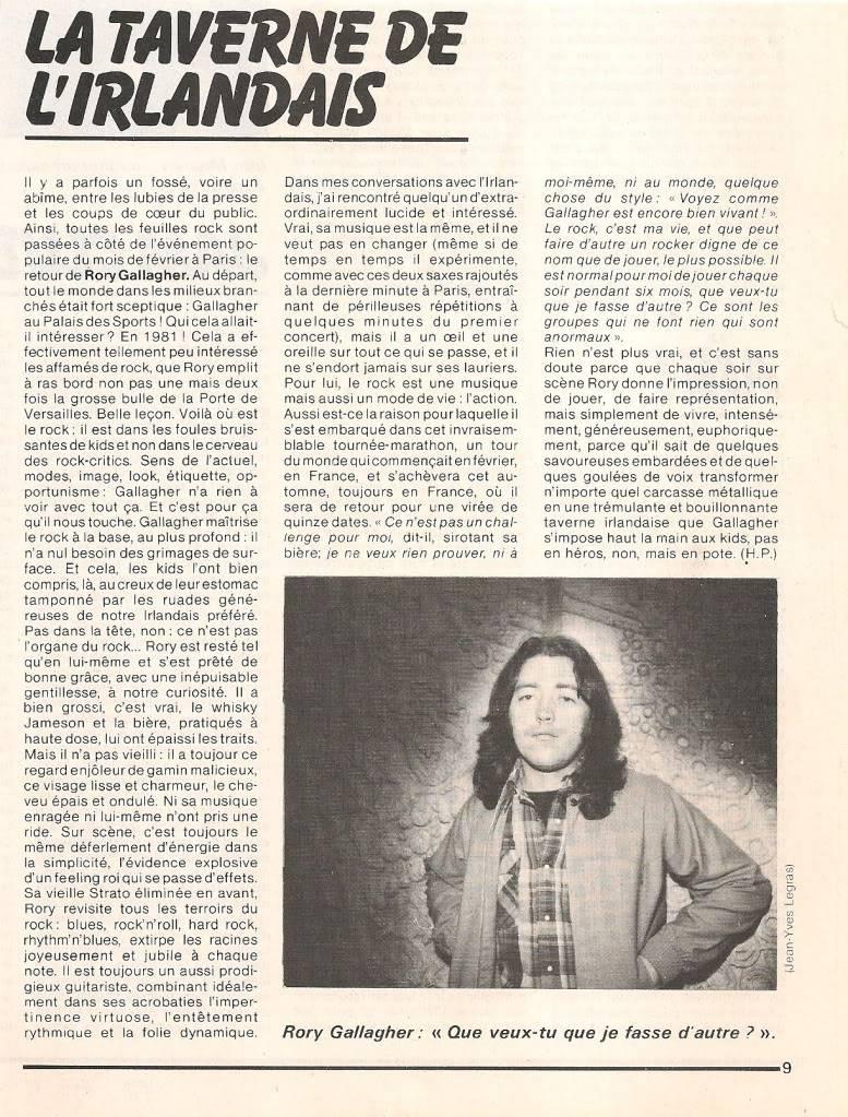 Rory dans les revues et les mags - Page 5 Bestavril1981