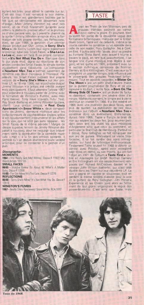 Rory dans les revues et les mags - Page 5 Jukeboxjan1993