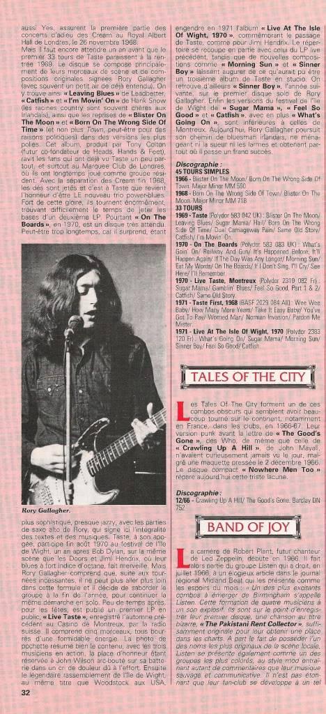 Rory dans les revues et les mags - Page 5 Jukeboxjan19931