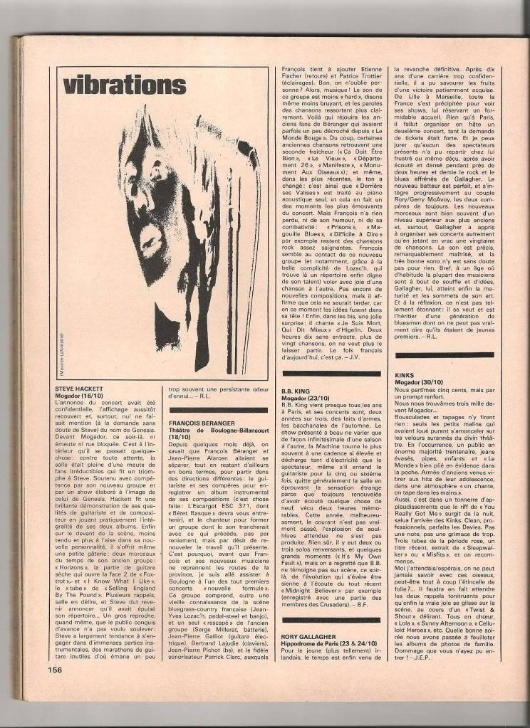 Rory dans les revues et les mags - Page 5 Rockfolkdec1978