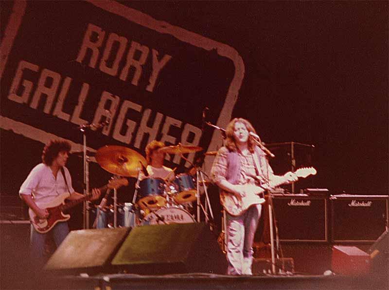 Photos Jonathan Brown, Rock on the Tyne, 30 août 1981 Tyne-rory_2