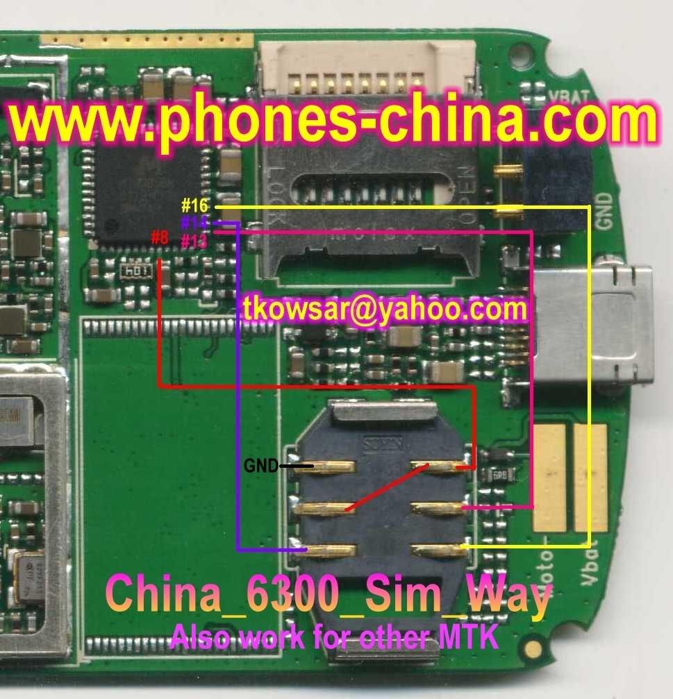 6300 insert sim repair guide solution