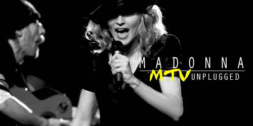 Juego: Crea tu 'Madonna MTV Unplugged' Madunplugged