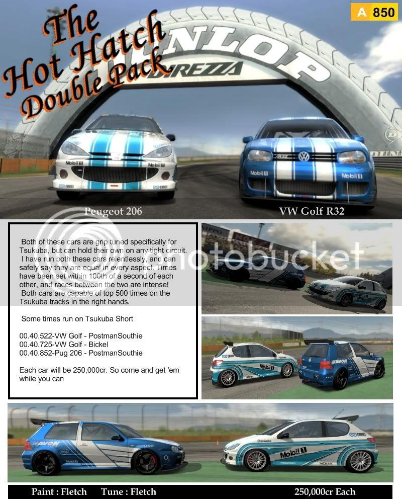 Hot Hatch Pack Dbleposter