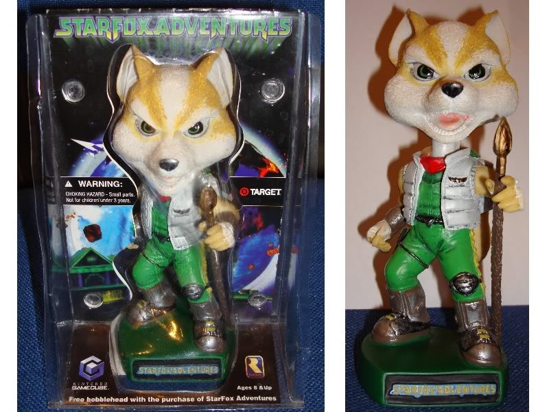Star Fox Merchandise SFABobblehead