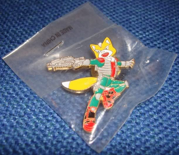 Star Fox Merchandise SFAPinBadge