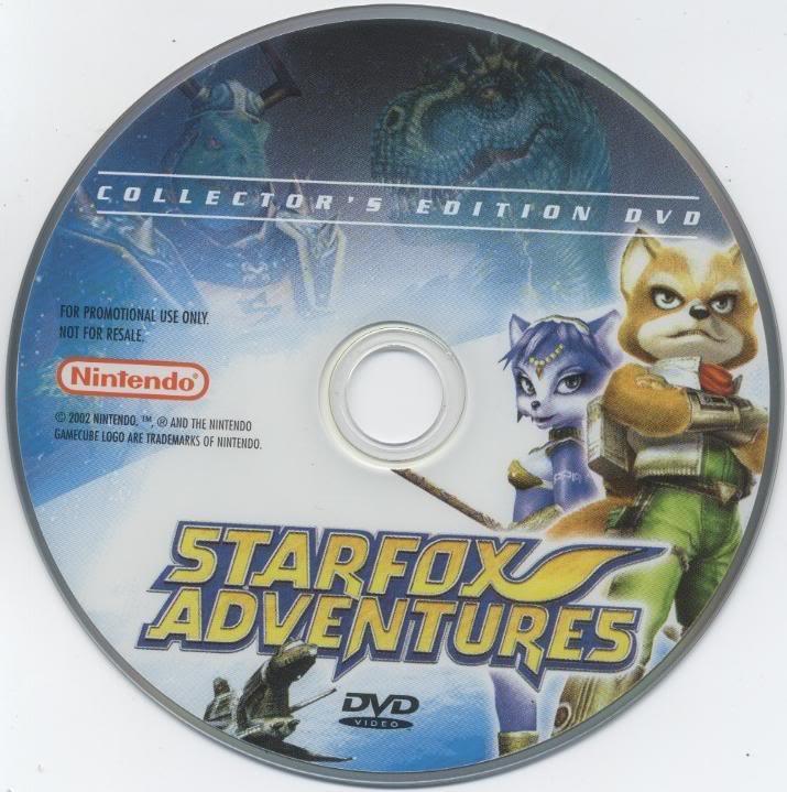 Star Fox Merchandise StarFoxAdventuresCollectorsEditionD