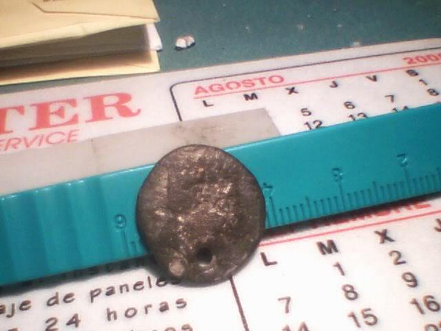 Denario de Arekoratas (forrado y perforado) 152507