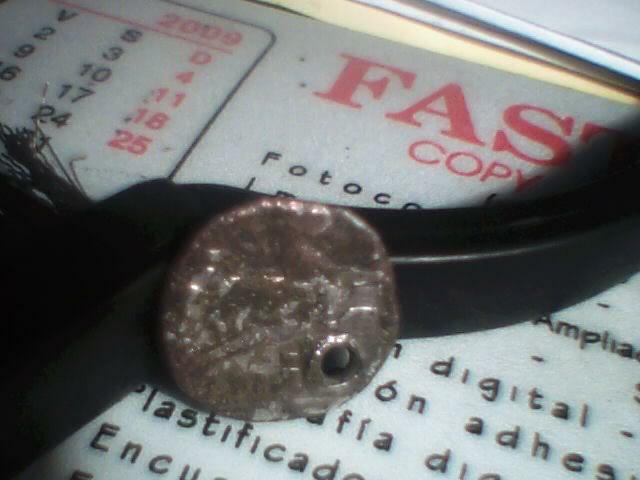 Denario de Arekoratas (forrado y perforado) 165250
