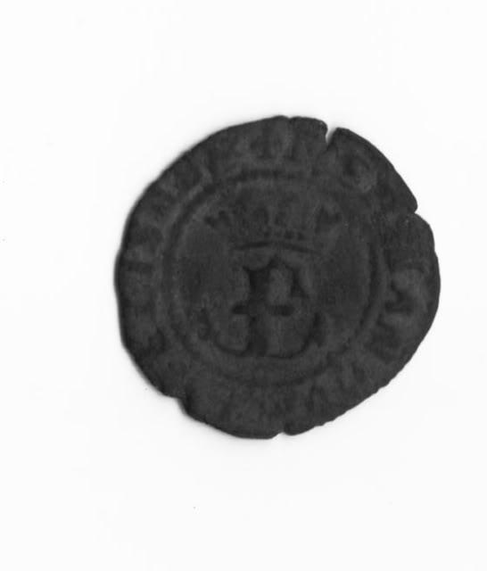 Blanca a nombre de RRCC (Toledo, 1535-1560) ensayador Baltasar Manzanas [WM n° 7014] Imagen1b