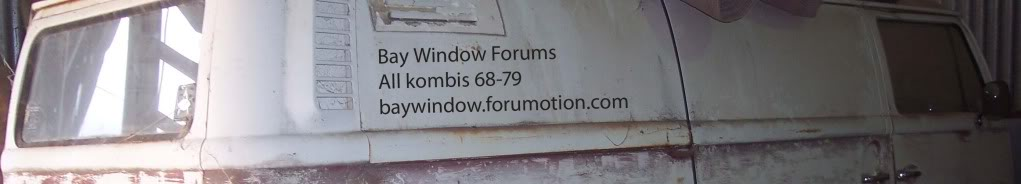 Please go to:  www.baywindowforums.com