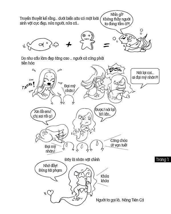 Câu chuyện nàng tiên cá ^^ TRANG1