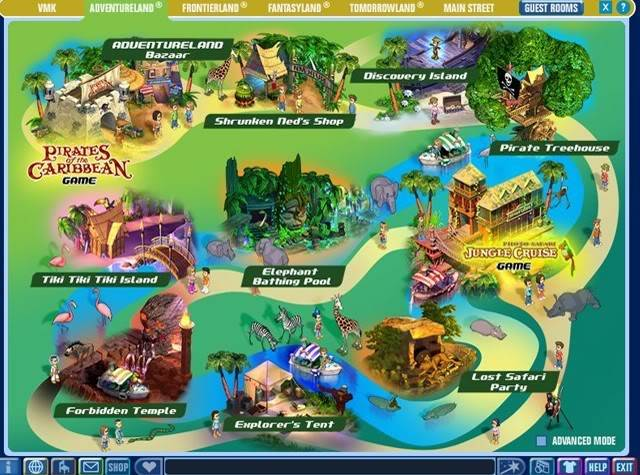 VMK Memories Part I Adventurelandmap