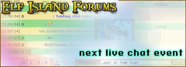 Elf Island Forums - Portal Livechatevent-1