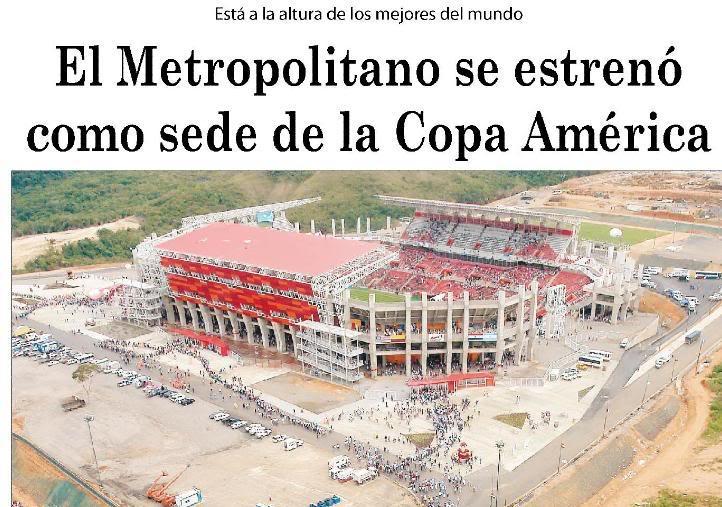 Cabudare | Estadio Metropolitano de Lara | 45.360 Ajsdfjasfdg