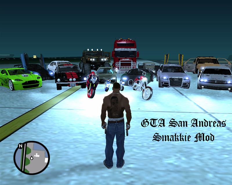 لعبه GTA San Andreas كامله ومضغوطه{mediafire}+رابط واحد SmakkieModMedium