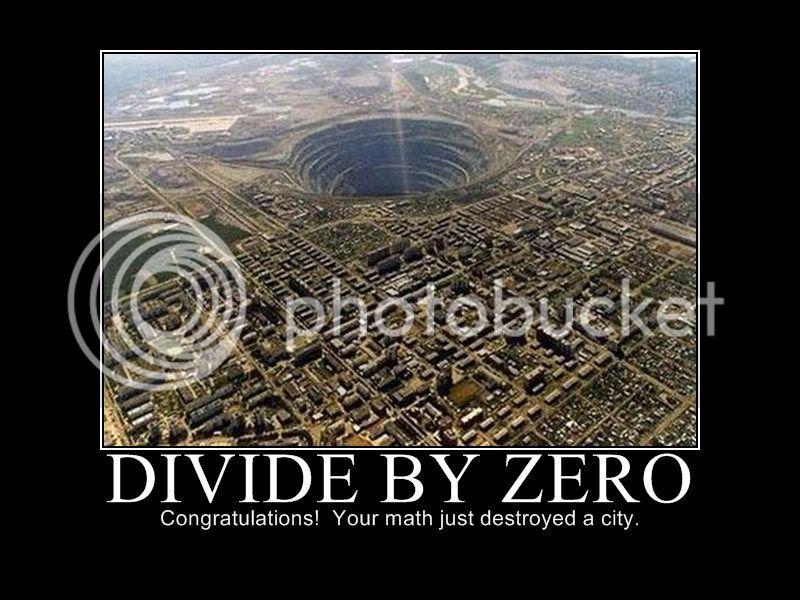 Desktop background Divide-by-zero-1