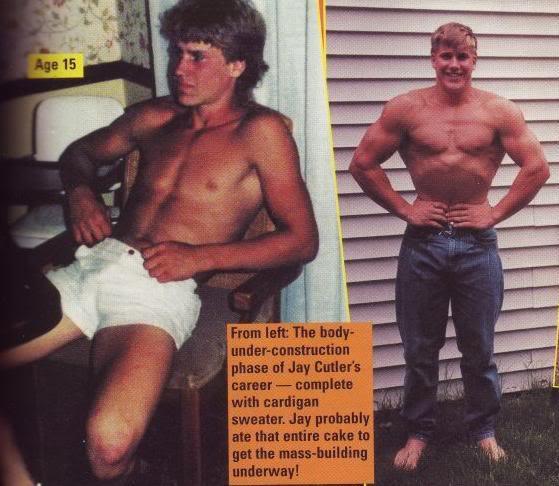 Jay Cutler y Branch Warren a los 19 y 18 años de edad 3