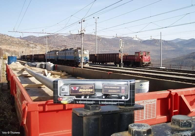 """Promotivni kamion DPŽ-a """"Štacion""""! ;-) 2009-01-13_Skrljevo2"""