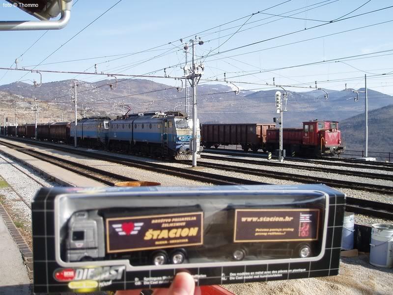 """Promotivni kamion DPŽ-a """"Štacion""""! ;-) 2009-01-13_Skrljevo6"""