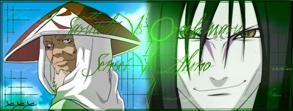 qual pein é mais estranho Orochimaru_Sarutobi