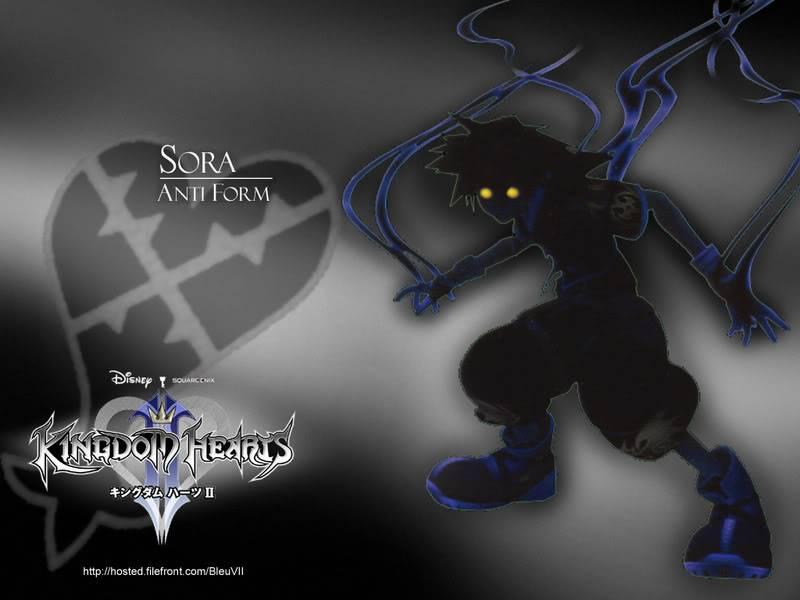 Kingdom Hearts FC Sora-anti-form