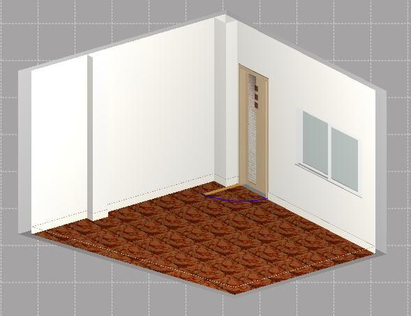 Projecto Nova Sala de Audio . Tratamento Acústico 3D2