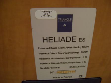 Projecto Nova Sala de Audio . Tratamento Acústico TriiangleHeliadeESspecs