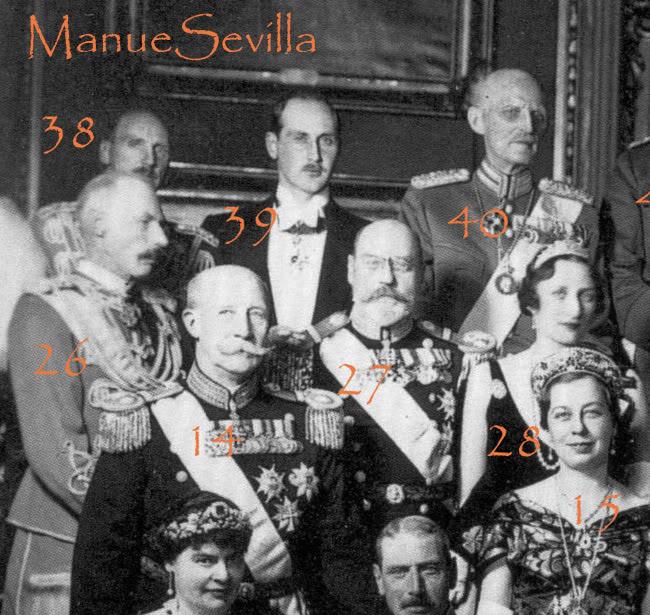 Principe Valdemar de Dinamarca y Princesa Maria de Orleans - Página 2 Grupo05