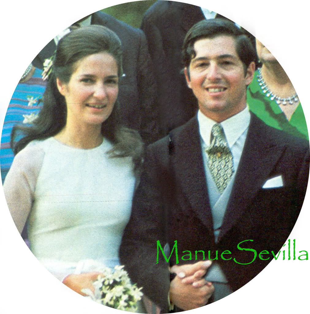 Boda Alejandro de Yugoslavia y Mª da Gloria de Orleans Losnovios1