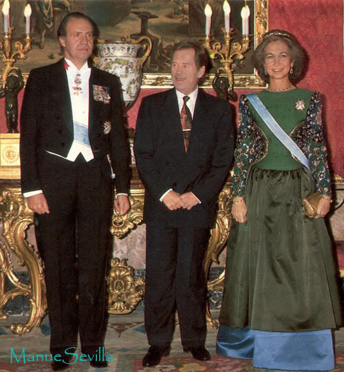 Casa Real de España - Página 7 VisitaVAclavHavel.ms