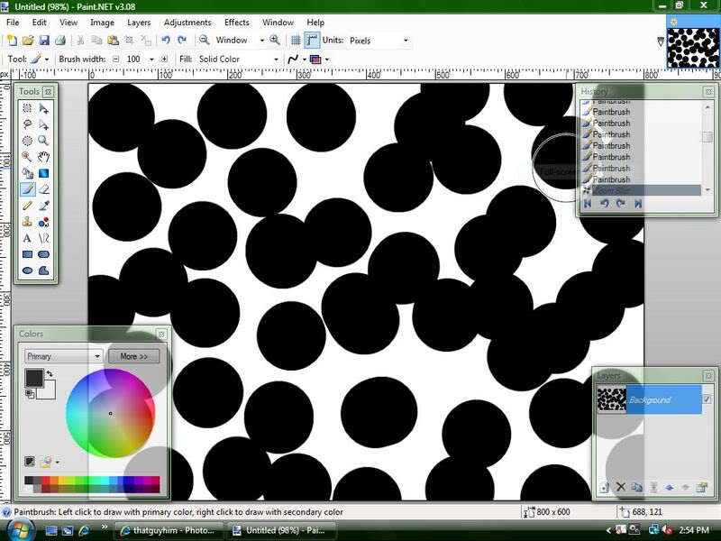 Уроки Paint.Net Rose1