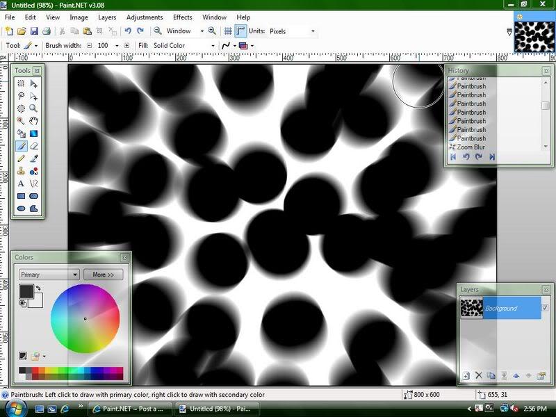 Уроки Paint.Net Rose3