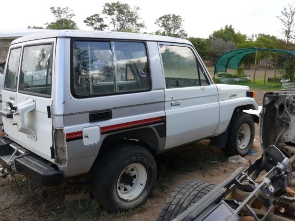 Toyota Bj70 shorty Landcruiser P1030996