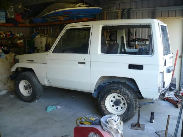 Toyota Bj70 shorty Landcruiser P1040063
