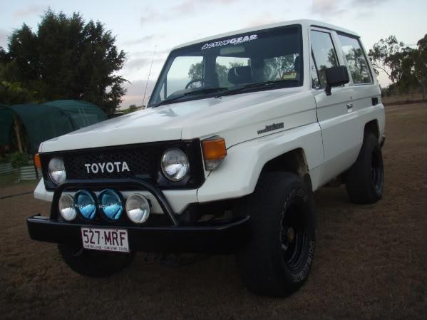 Toyota Bj70 shorty Landcruiser P6150806