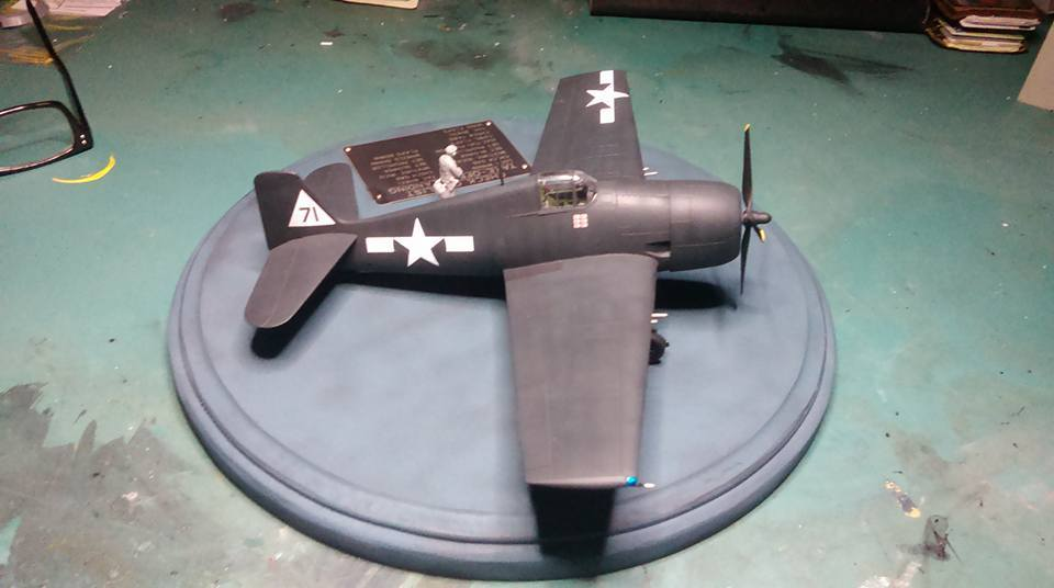 F6F-5 Hellcat VF-20 White 71 Lt. Leo Bob McCuddin CV-6 USS Enterprise October 1944 11163764_10205861627312728_9020108199575062921_n