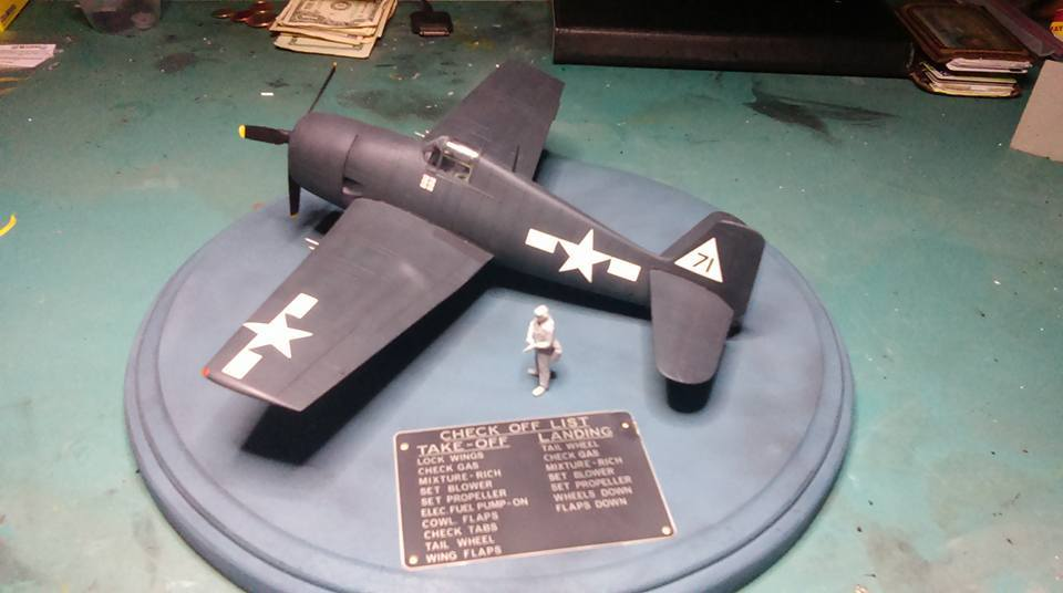 F6F-5 Hellcat VF-20 White 71 Lt. Leo Bob McCuddin CV-6 USS Enterprise October 1944 11167701_10205861626952719_3412118995020548117_n